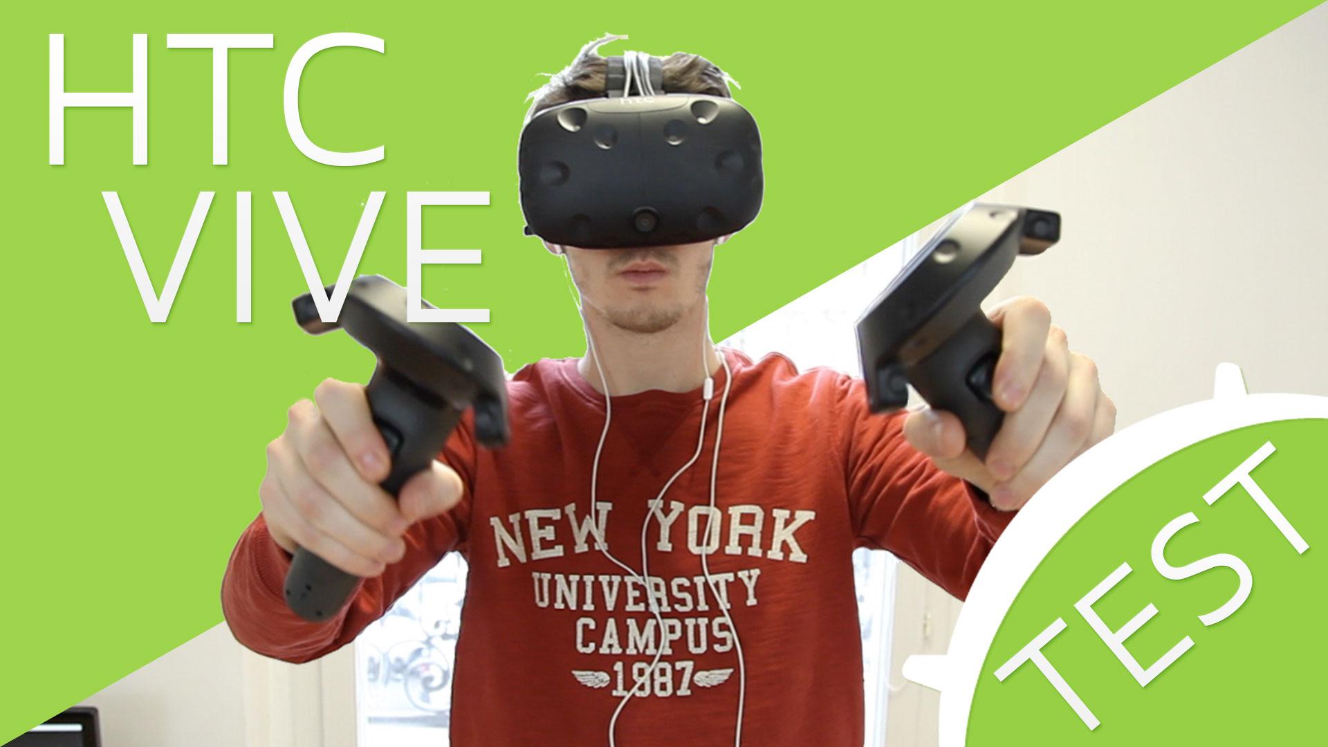 Vidéo : Notre test du HTC Vive, l'expérience ultime de réalité virtuelle