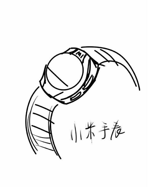 Xiaomi Mi Watch : un dessin donne une idée de son design