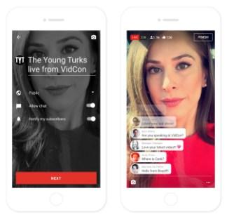 YouTube lance le streaming pour tous pour concurrencer Periscope et Facebook Live