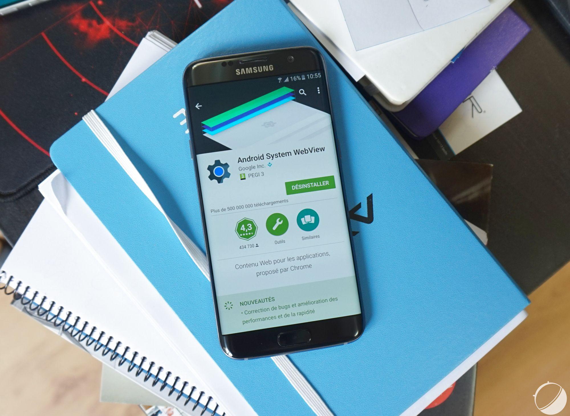 Avec Android 7.0 Nougat, Chrome va devenir la WebView