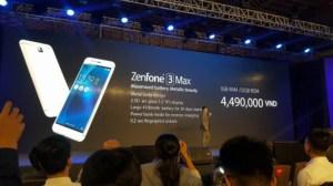 Les Zenfone3 Max et Laser sont officiels : l'un pour l'autonomie et l'autre pour la photo