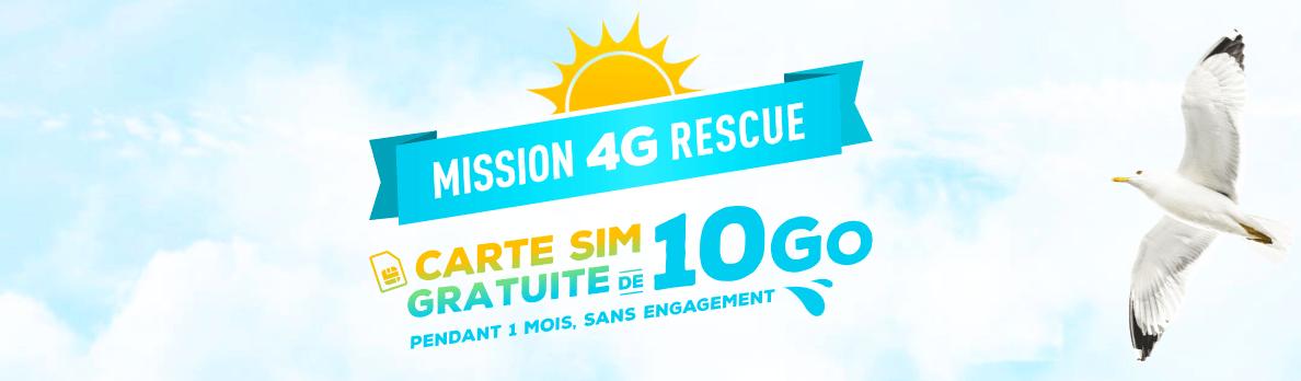 Bouygues Telecom offre à nouveau gratuitement 10 Go de data pendant un mois