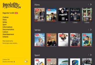 Molotov : Télécharger l'APK de la nouvelle bêta 1.2.4 sur Android