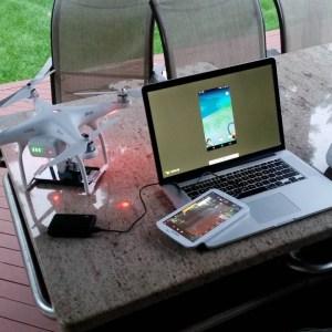 Il est possible d'utiliser un drone pour attraper des Pokémon