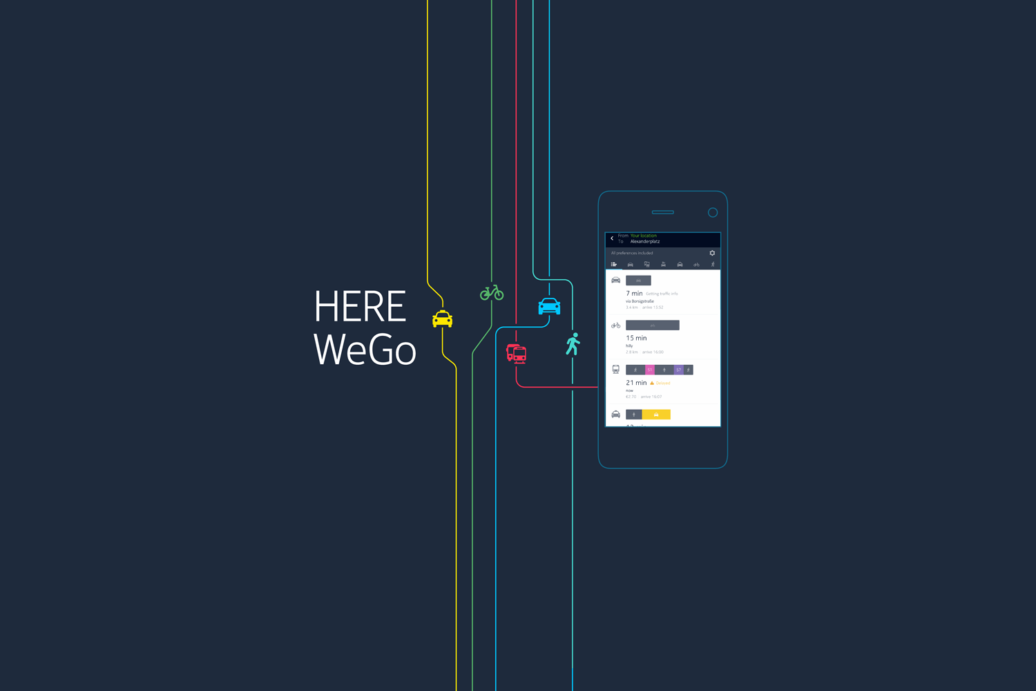 Here WeGo : Comment Here Maps part à la (re)conquête du mobile