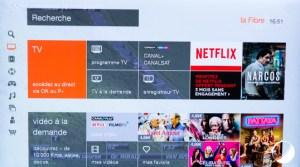 Test de la Livebox 4 avec son décodeur TV 4 compatible UHD