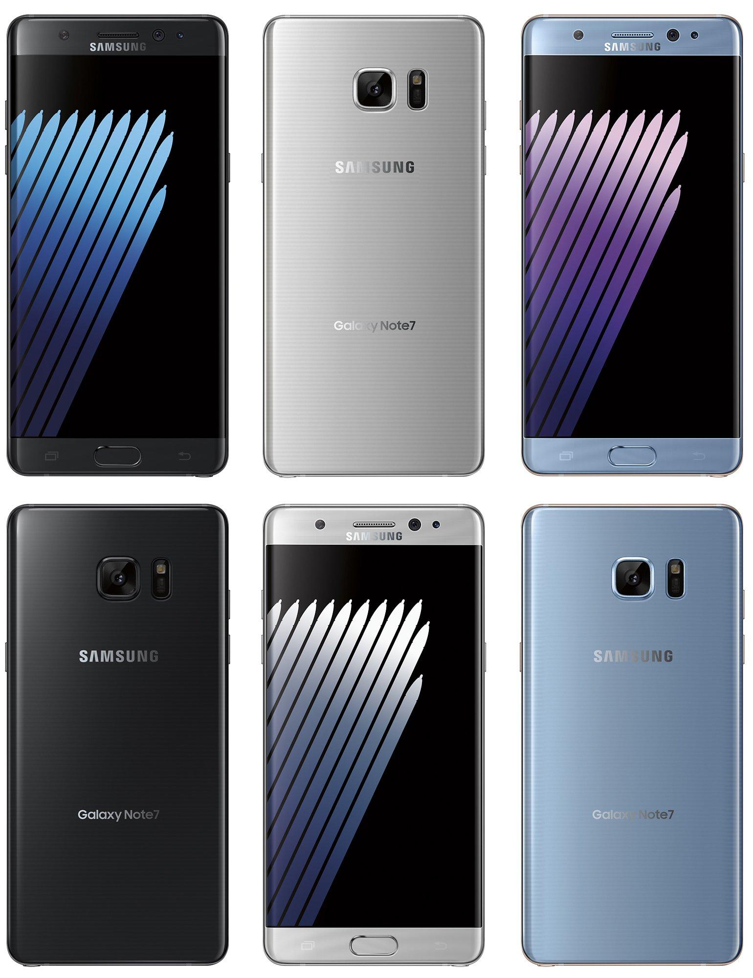 Samsung Galaxy Note7 : encore une fuite d'images