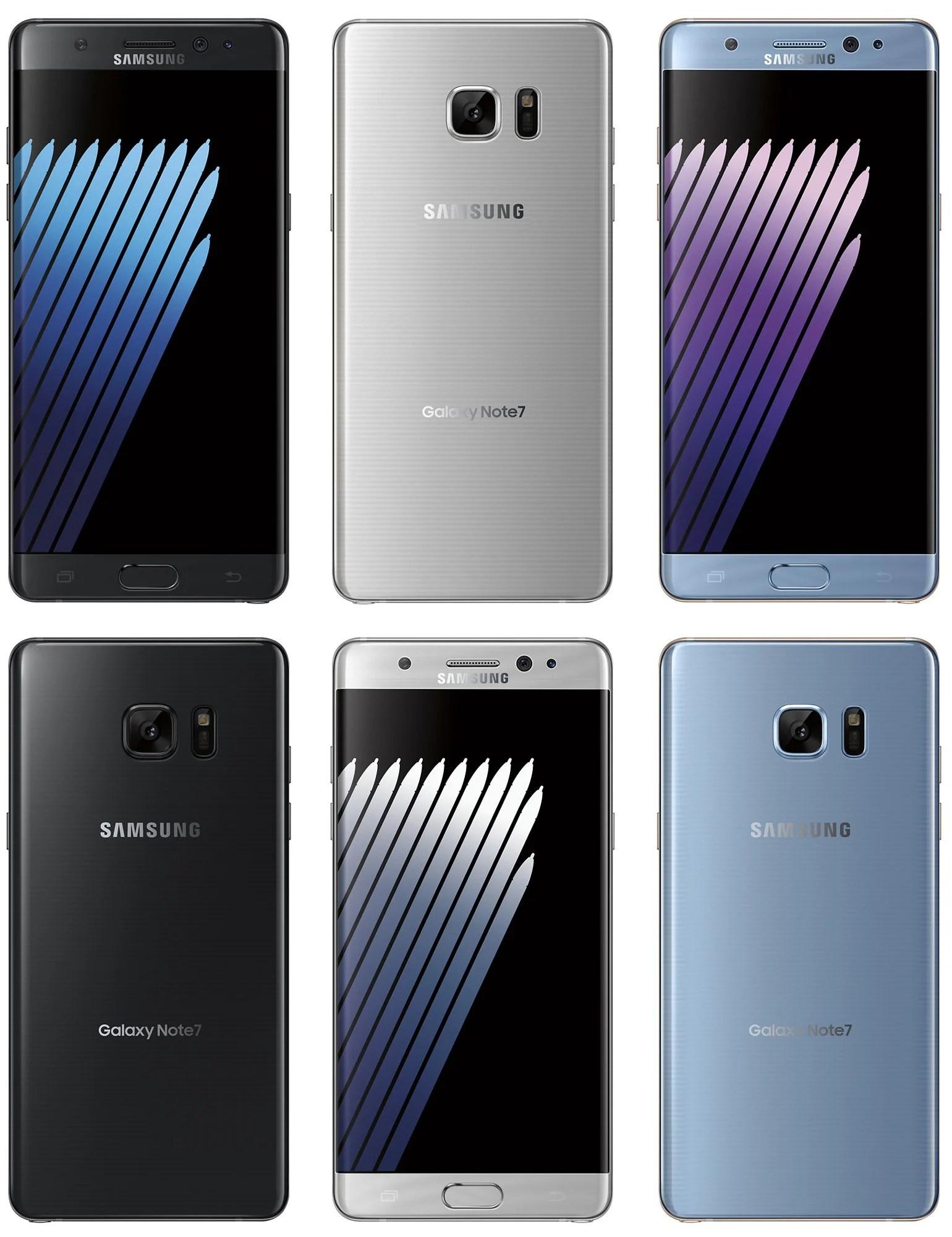 Samsung Galaxy Note7 embarquera bien un scanner d'iris