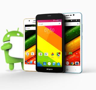 Color C, E et S5.5 : trois terminaux Zopo reçoivent Android Marshmallow