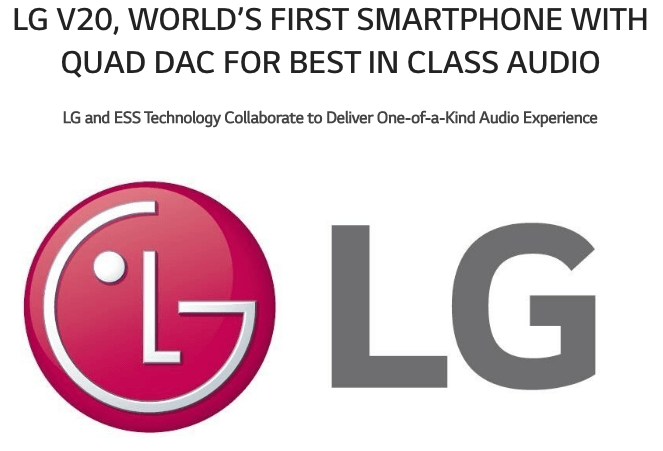 Le LG V20 sera le meilleur audiophone ou ne sera pas