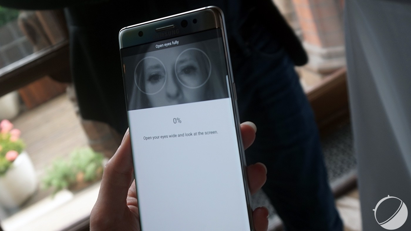 Scanner d'iris et double capteur : le Galaxy S8 ravit les fournisseurs de Samsung