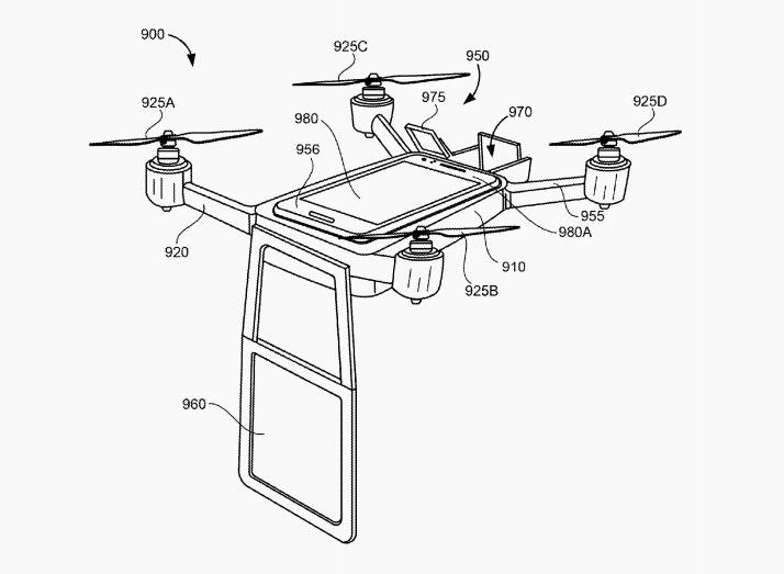 Google voudrait utiliser les drones pour les vidéoconférences