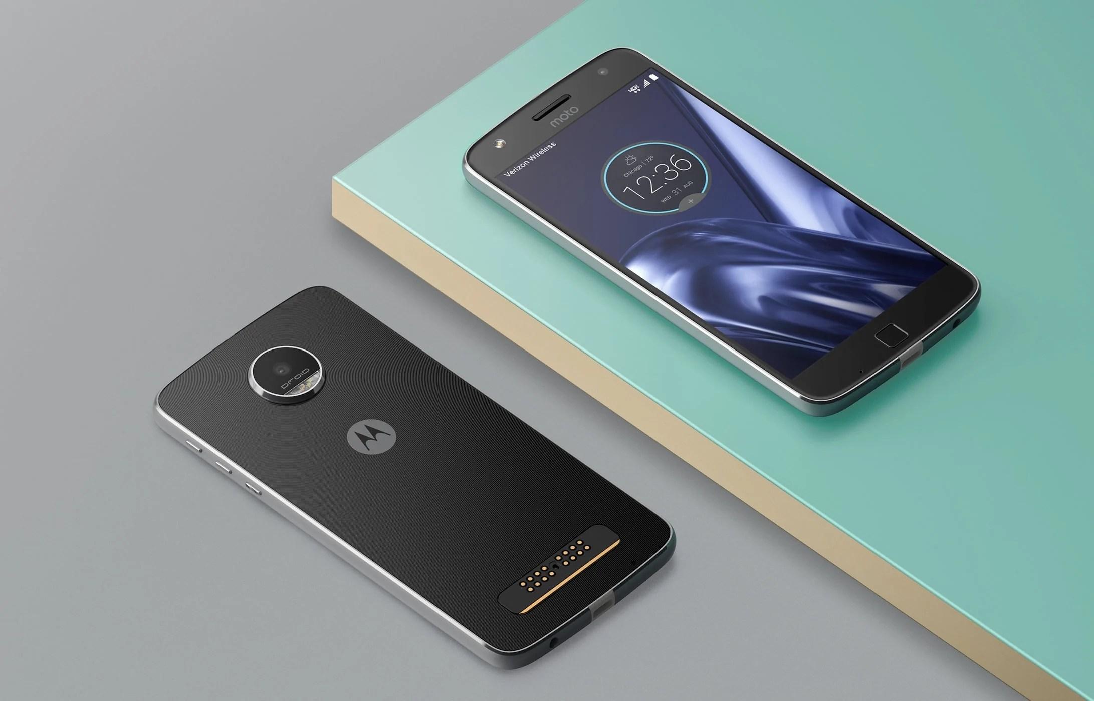 Motorola (Lenovo) annonce l'arrivée d'Android 7.0 Nougat sur les Moto Z et Moto G4