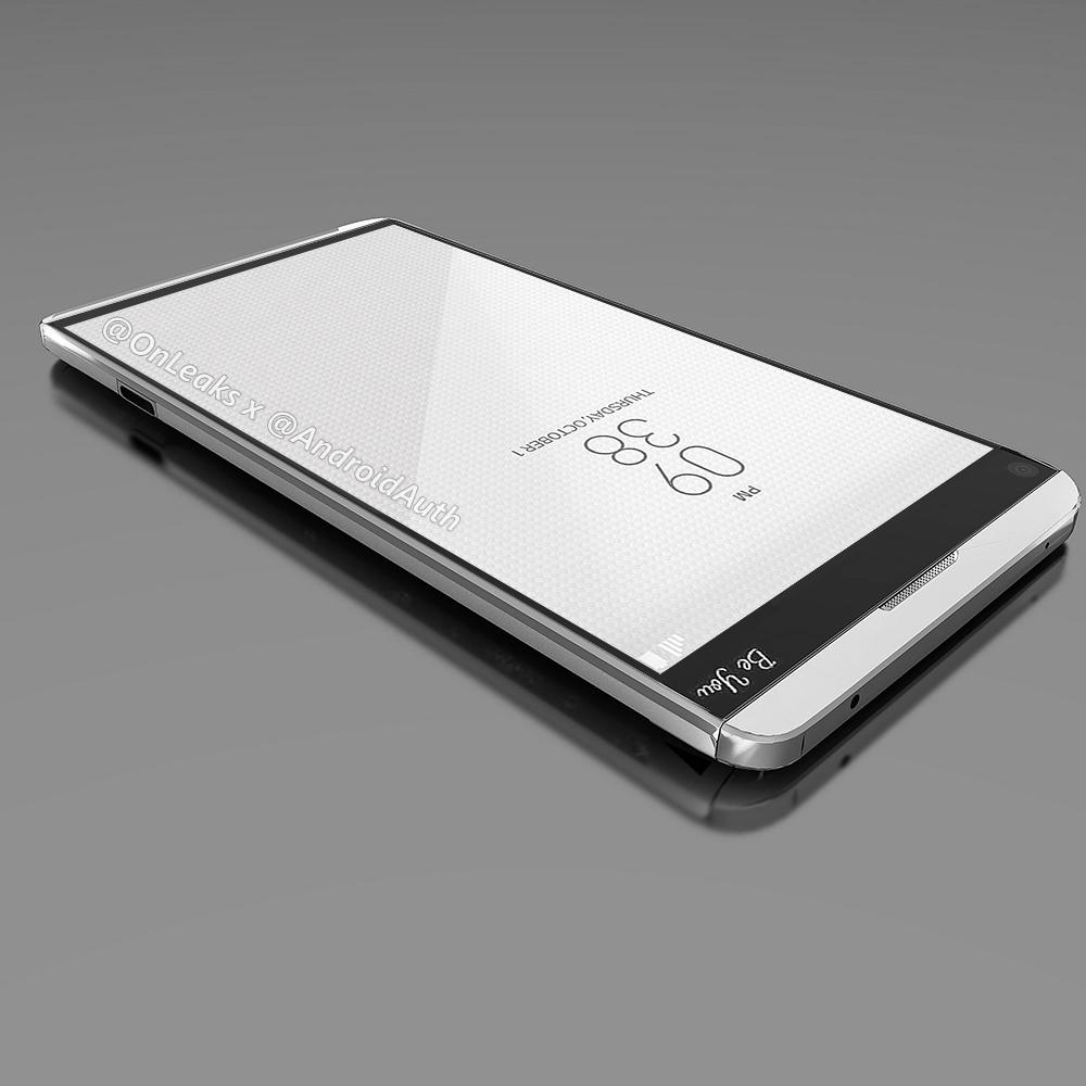 LG V20 : un rendu révèle une modularité à la G5