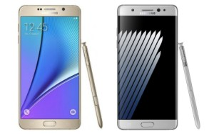 Samsung Galaxy Note 7 vs Galaxy Note 5, du pratique au ludique