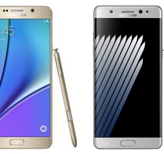 Samsung Galaxy Note 7 vs Galaxy Note 5, du pratique au ludique