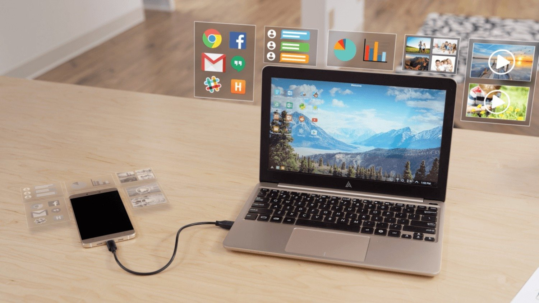 Le Superbook d'Andromium veut transformer votre smartphone en PC portable
