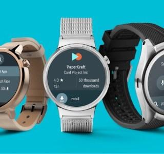 Android Wear 2.0 : 7 nouvelles montres mises à jour d'ici fin mai
