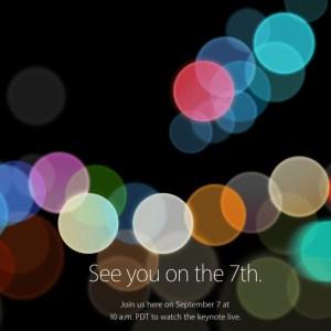 iPhone 7 et Apple Watch 2 : comment suivre en direct la conférence Apple