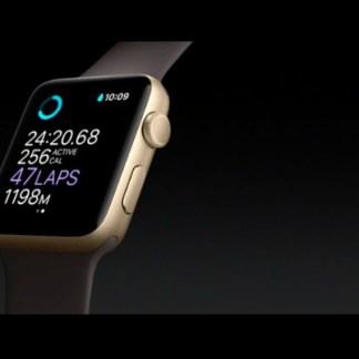 Apple Watch Series 2 : une nouvelle montre étanche, plus puissante et dotée d'un GPS