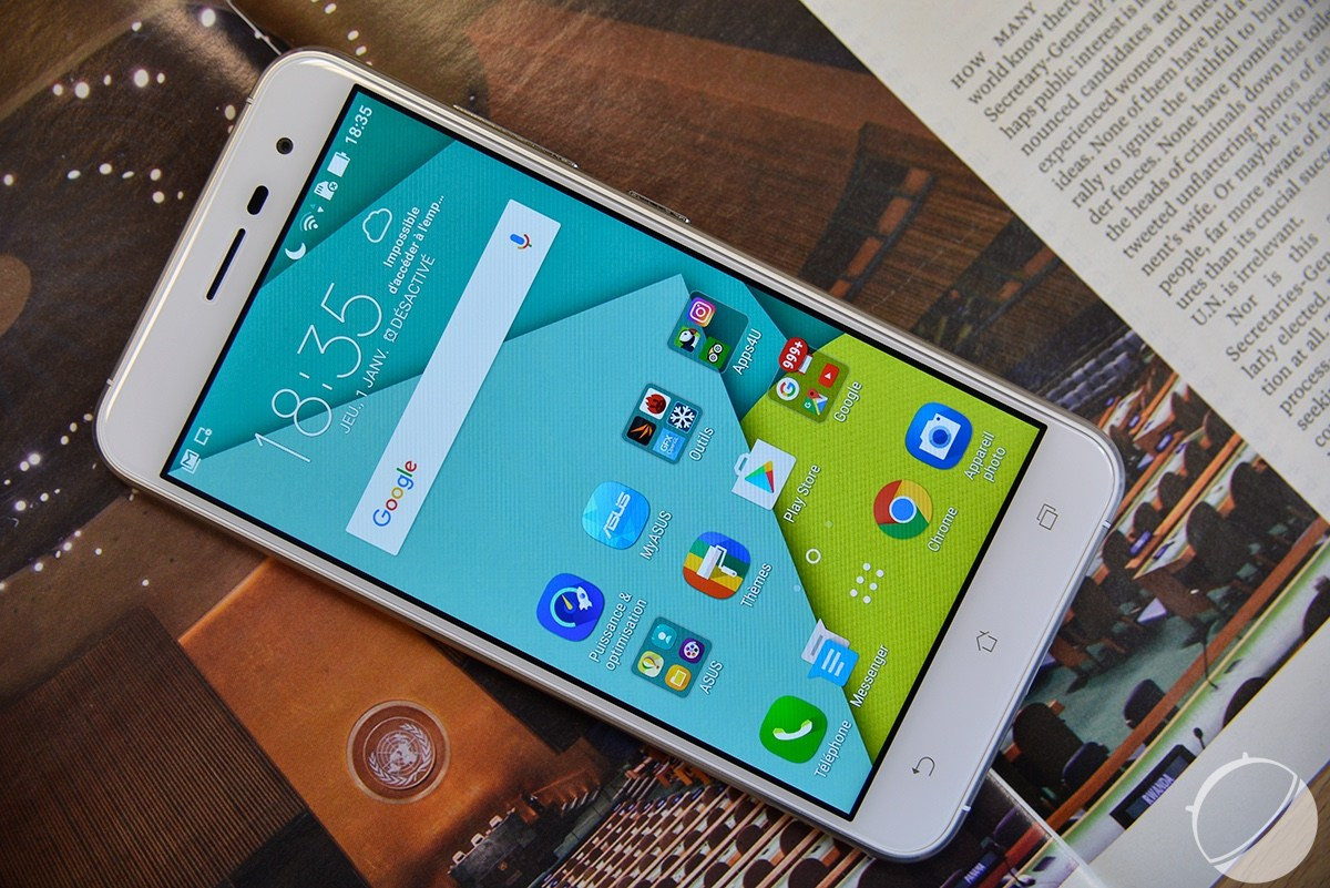 Vidéo : Notre test du Asus ZenFone 3 (ZE520KL), un smartphone qui monte en gamme