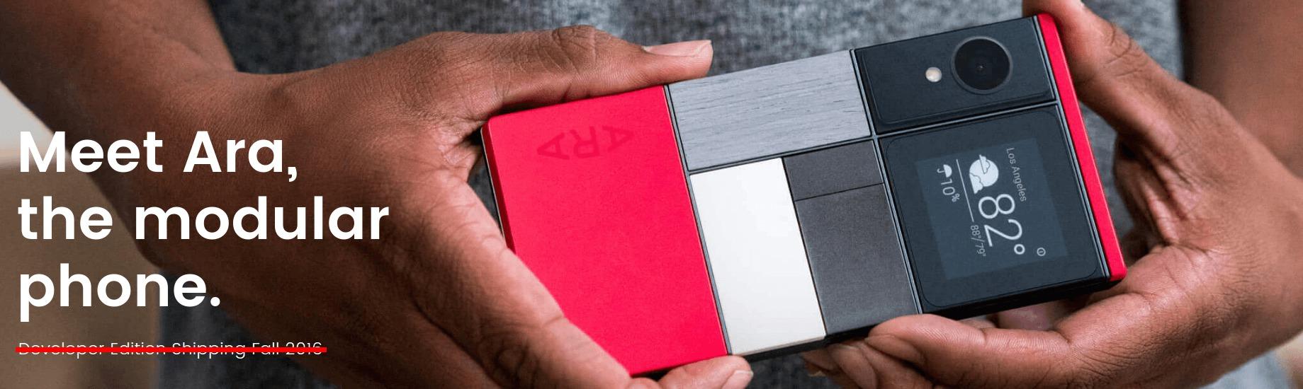 Projet Ara : les smartphones modulaires de Google auraient-ils déjà un pied dans la tombe ?