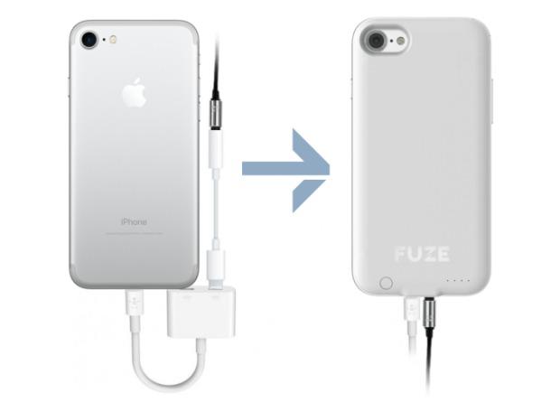 Une coque permet à l'iPhone 7 de retrouver son port jack