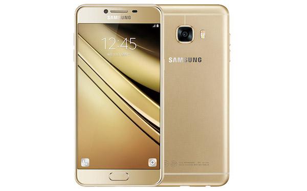 Le Samsung Galaxy C9 s'affiche avec 6 Go de RAM