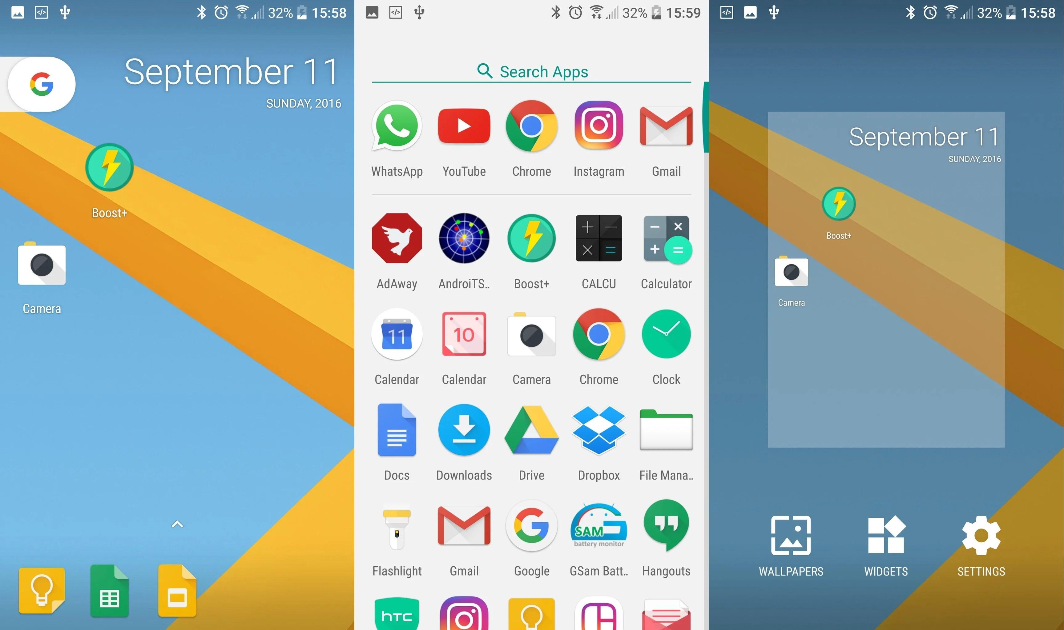 Un avant goût du Pixel Launcher d'Android 7.1 Nougat grâce à Action Launcher 3