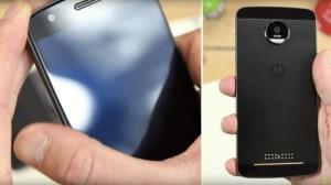 Vidéo : Test du Lenovo Moto Z, un smartphone fin et modulaire