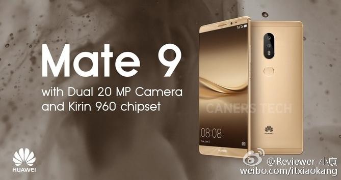 Huawei Mate 9 : trois modèles évoqués pour une annonce début novembre