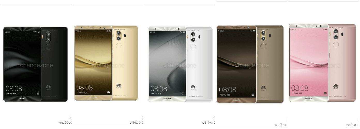 Huawei Mate 9 : des coloris exclusifs pour la version 256 Go