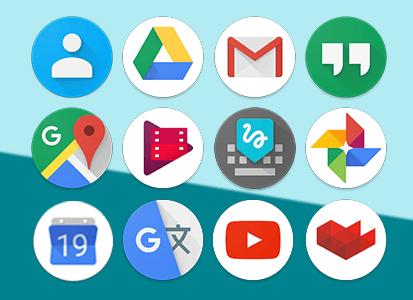 Google Pixel Launcher : les nouvelles icônes en fuite sur Internet