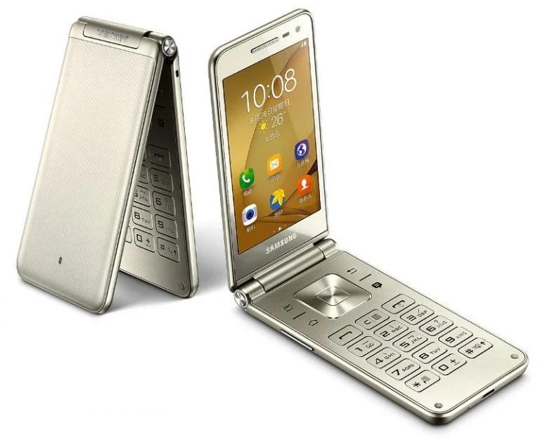 Samsung annonce un nouveau mobile à clapet : le Galaxy Folder 2
