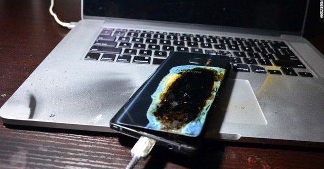 Samsung ne connaît toujours pas la cause des explosions du Galaxy Note 7