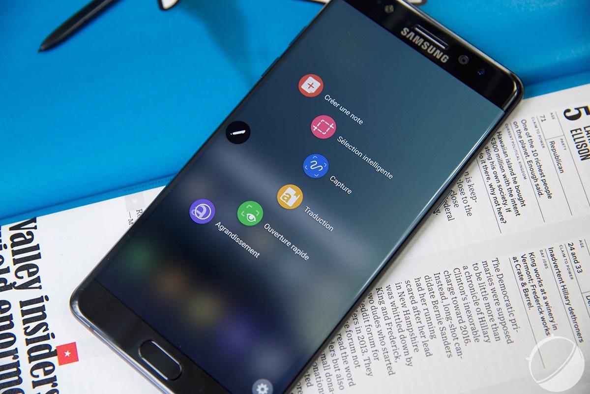 En Europe aussi, le Galaxy Note 7 sera mis à jour pour décourager les utilisateurs