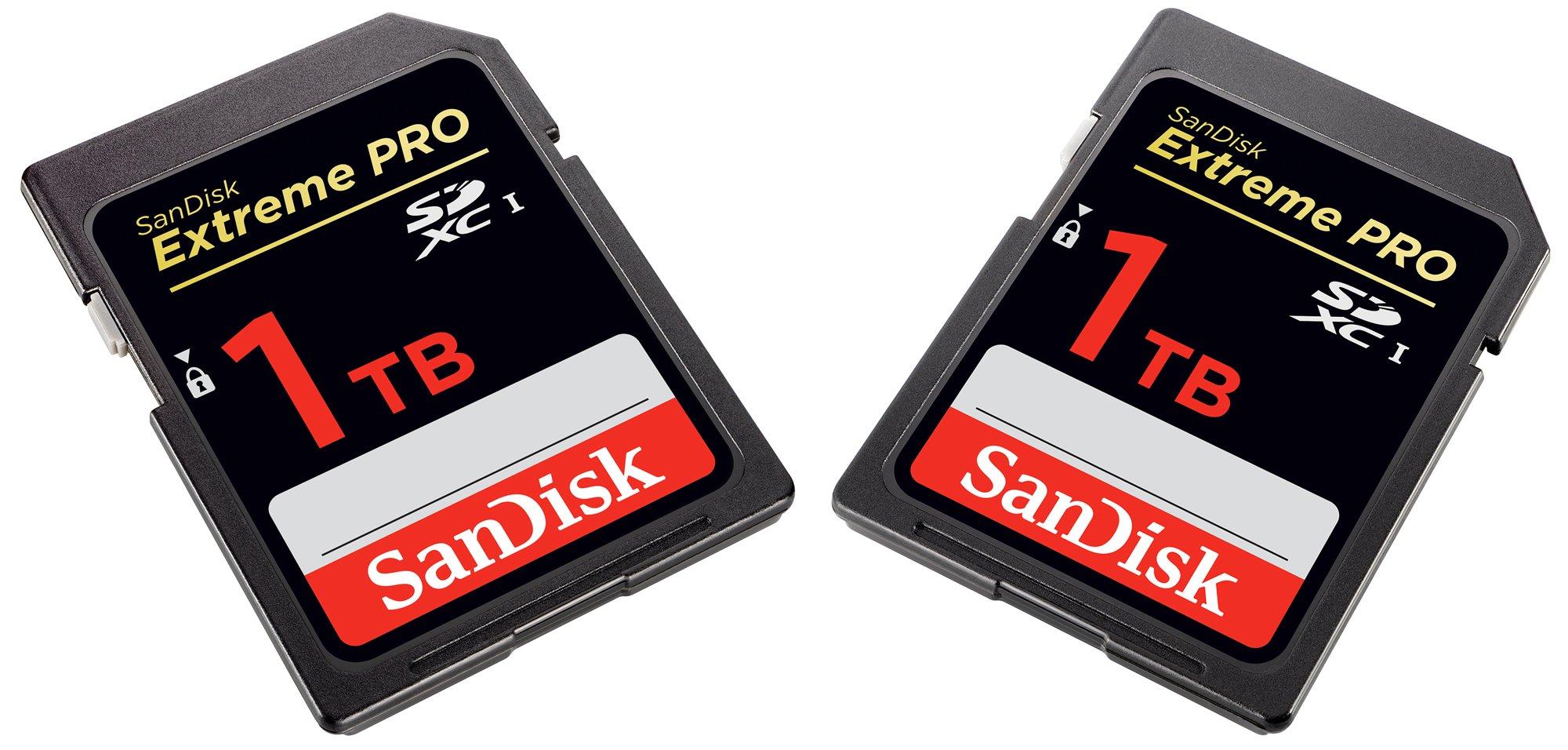 SanDisk annonce une carte SD dotée d'une capacité monstrueuse