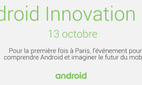 Le 13 octobre prochain, Google organise l'Android Innovation Day à...