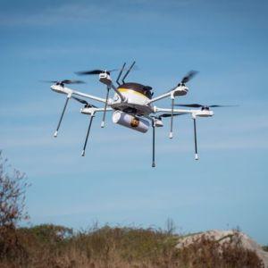 UPS compte sauver des vies grâce aux drones
