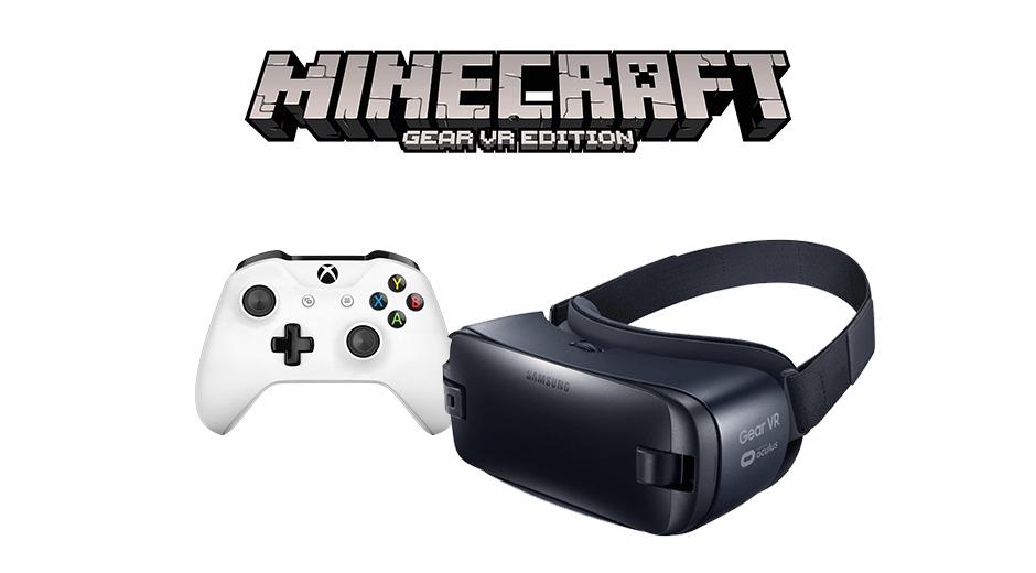 La manette Xbox One compatible avec le Gear VR de Samsung