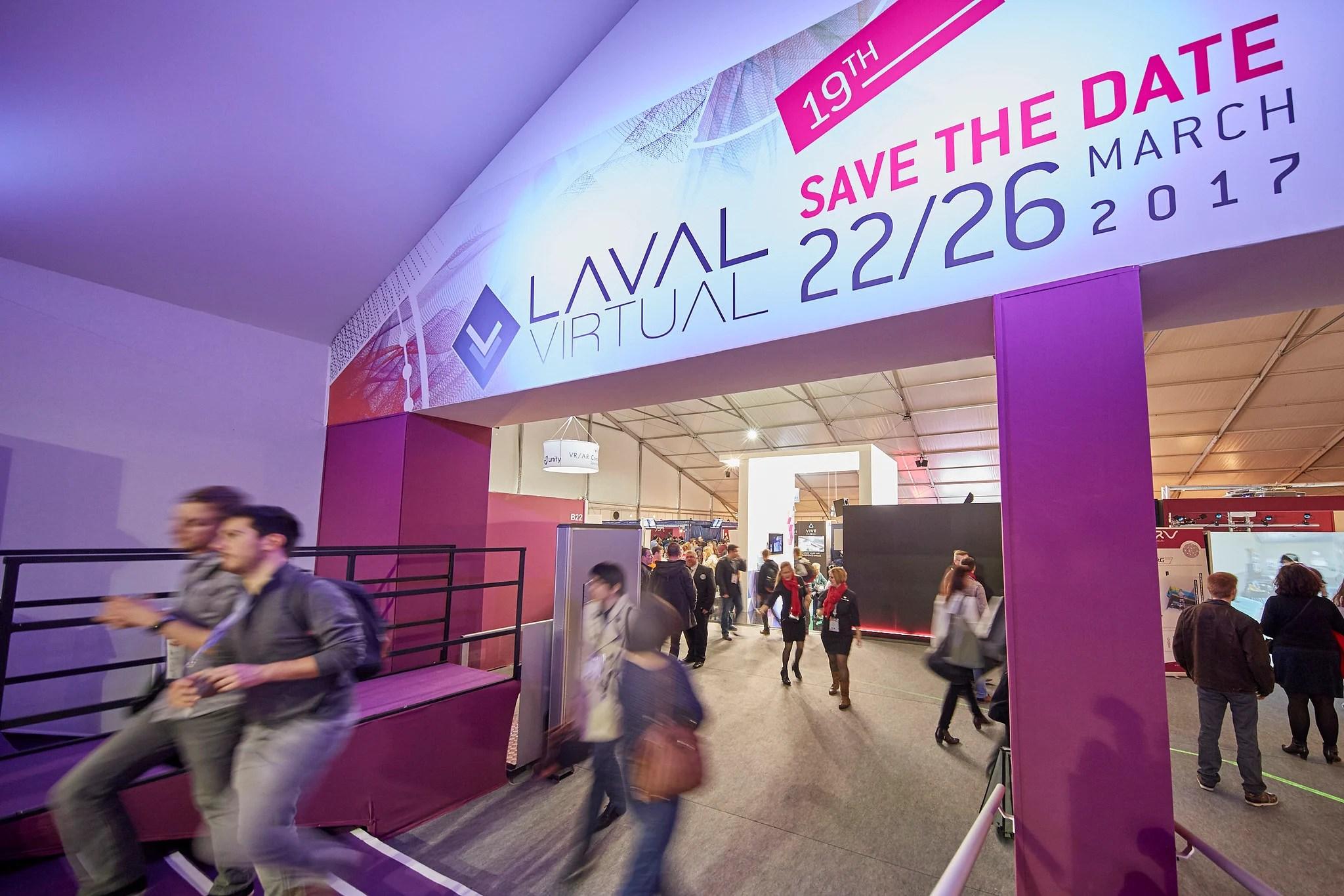 Laval Virtual 2017 : inscrivez-vous tant que c'est gratuit