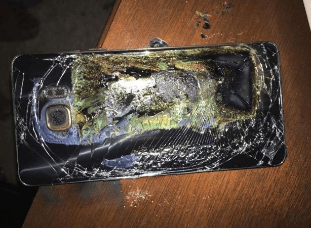 Galaxy Note 7 : Samsung prévoit 2,5 milliards d'euros de pertes en quelques mois