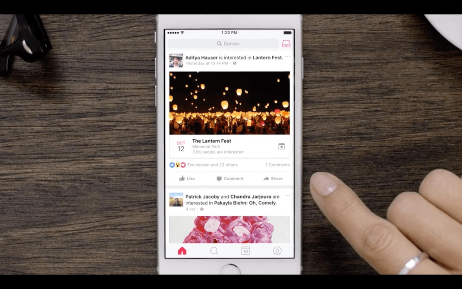 Facebook Events : l'application pour retrouver tous vos évènements disponible sous Android