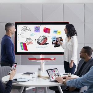 Jamboard : Google lance un tableau 2.0 en 4K pour concurrencer le Surface Hub de Microsoft