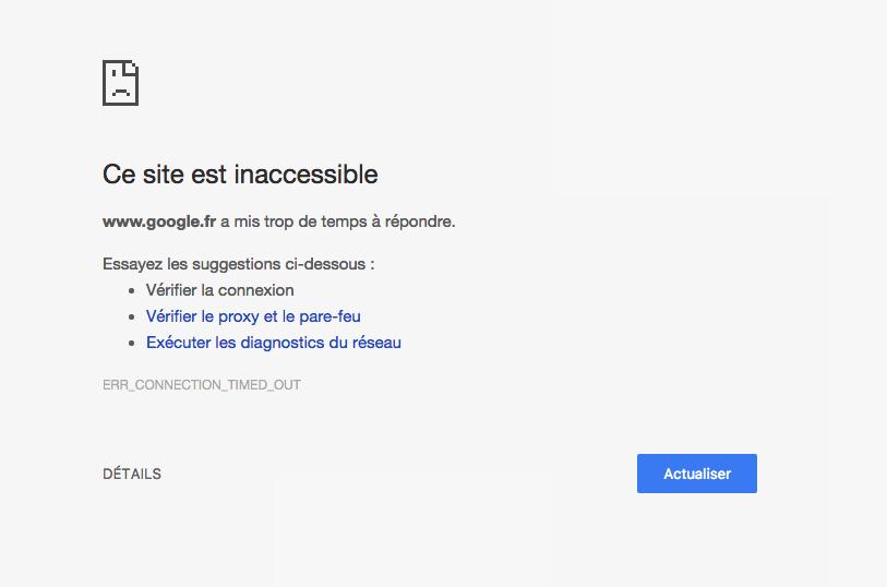 Google et Wikipedia inaccessibles chez Orange : les raisons de la panne