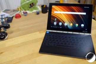 Test de la Lenovo Yoga Book : une interface Android enfin adaptée aux tablettes