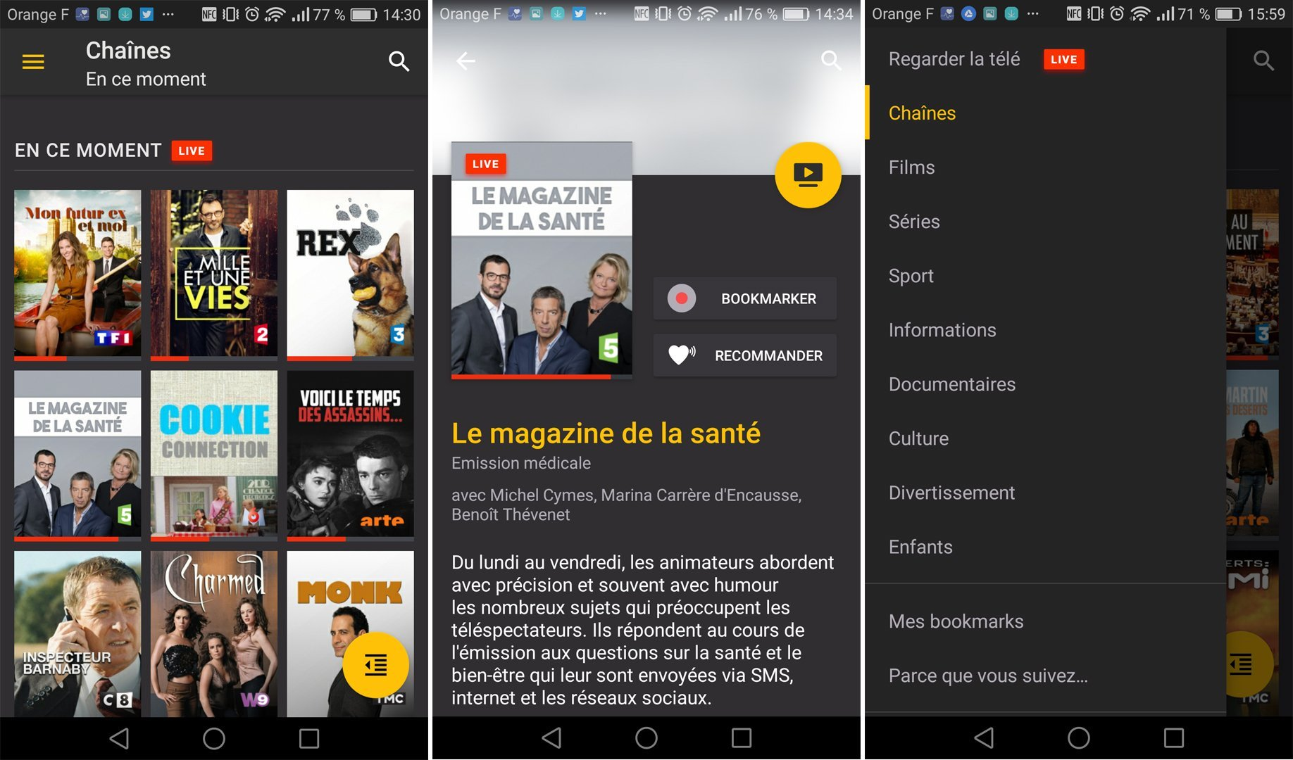 Molotov enfin disponible en version finale sur le Play Store