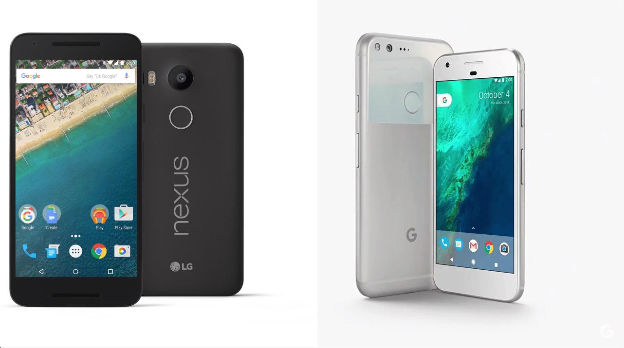 Comment Google a tué Nexus avec ses Pixel
