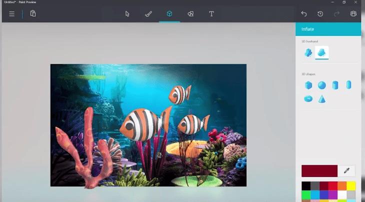Bientôt une version mobile pour Paint 3D de Microsoft