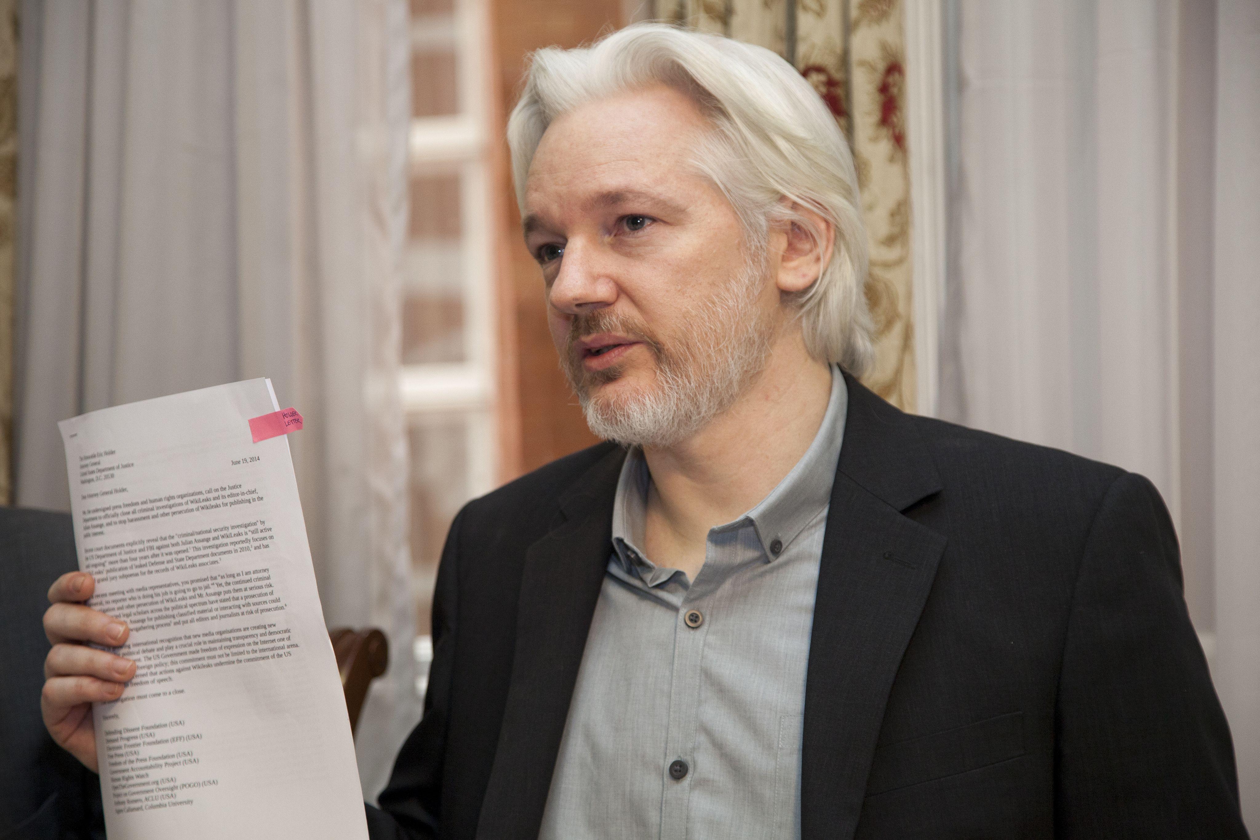 Wikileaks veut faire couler Google